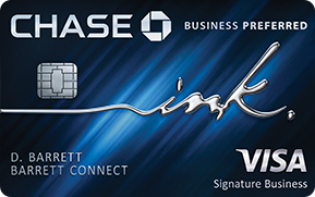 Chase Ink Preferred Business Card