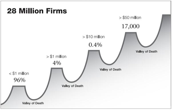 28 Million US Firms by Revenue